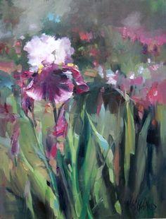 Mary Maxam - paintings: Iris Garden