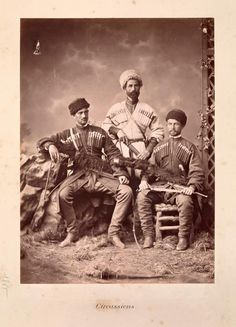 Kabarda peoples, the Central Caucasus, the early 20th c.