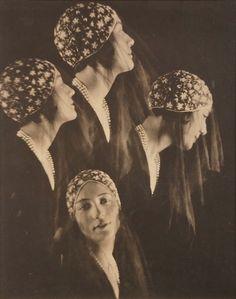 Portrait of a Model, Harper's Bazaar, May 1928 (Baron Adolph de Meyer)