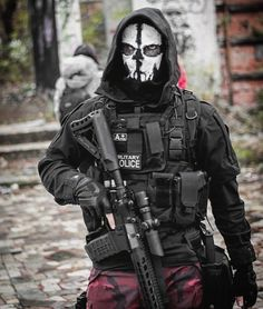 Special Forces Gear, Military Special Forces, Combat Armor, Combat Gear, Military Guns, Military Art, Armas Airsoft, Captain America Suit, Ghost Soldiers
