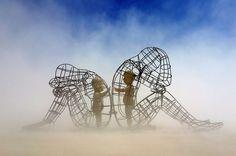 Love - Burning Man Sculpture (Inner Child) - 2