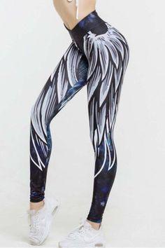feb7134c3aa32 Color block #printing is still popular. Try this fashionable yoga leggings. Yoga  Leggings