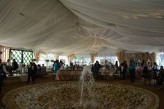 Tent Covered Plaza