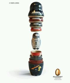Star Wars Russian doll set