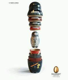 Star Wars Russian doll set