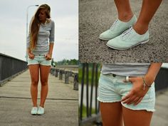 Aztec and Mint. (by Layla .D) http://lookbook.nu/look/3699151-Aztec-and-Mint