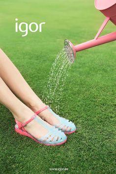 Igor. Botas, cangrejeras y sandalias de agua: Nueva colección cangrejeras Primavera Verano 2016
