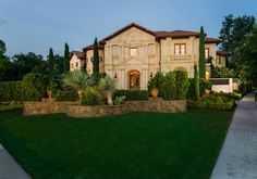With unsurpassed attention to detail, this home is Highland Park on 1.1 acres of landscaped grounds. This grand estate was custom built with finishes the most discerning buyer will appreciate, from the Aleppo Gold limestone exterior to the $1M+ in landscape.  The grounds are private with an evergreen fence.  The home was designed with intimate rooms doubling as art galleries: 6 suites, theater, gym, salon, multiple outdoor loggia and terraces.|strip_tags