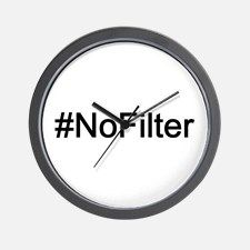 NoFilter Wall Clock for