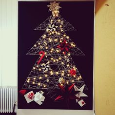 #christmas tree #architecture #diy #origami #ornaments