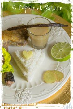 © Popote et Nature - Pintade à la vanille, au gingembre miel et citron vert