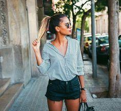 Elegant casual look