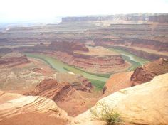 The big bend of the #ColoradoRiver as it enters #Canyonlands near #Moab UT, seen from #DeadHorsePoint
