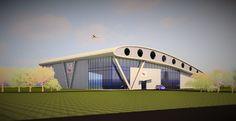 Concept sketch for new BMFA National Centre