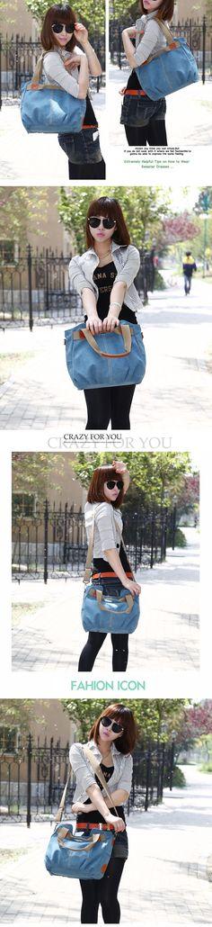 e78bdecc4b Women Vintage Canvas Shoulder Bag Purse Top-Handle Hobo Tote Handbags –  lalasgal