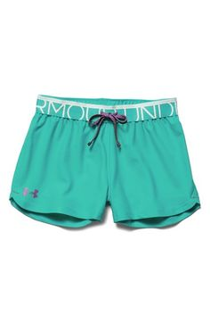 Under Armour 'Play Up' Shorts (Big Girls)