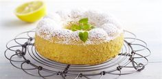 gluten free lemon cake. Replace the milk with vegan milk and the eggs with chia seed eggs and it's vegan!