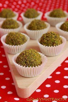 gülay mutfakta: Nutellalı Truff Shrimp Recipes, Baby Food Recipes, Dessert Recipes, Turkish Recipes, Homemade Beauty Products, Mini Cupcakes, Truffles, Cake Pops, Deserts