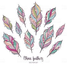Feather Clip Art, Feather Drawing, Mandala Design, Flower Designs, Design Art, Quilts, Drawings, Flowers, Feathers