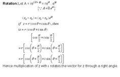 math rotation formulas pioneer mathematics