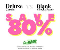 Do you know, you can print your own checks at home or office on blank check paper? Why do you have to order deluxe checks or pre-printed checks when you can save up to by switching to a blank check printing software? Business Bank Account, Blank Check, Writing Software, Software Online, Business Checks, Online Support, Online Checks, Letter Size Paper, Check Printing