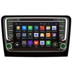 Octa/Quad Core Android Fit SKODA  Rapid 2013 2014 2015 2016 Car DVD Player Navigation GPS 3G Radio