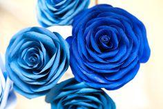 Handmade Coffee Filter Roses Wedding Bouquet by Jennifer Kwon, via Behance