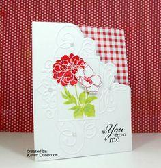 Flourish folder by cuttlebug