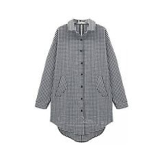 Casual Plus Size Loose Plaid Back Bow Turn Down Collar Blouse (290 UAH) ❤ liked on Polyvore featuring tops, blouses, black, v-neck tops, plus size womens blouses, womens plus tops, plus size black tops and v neck blouse