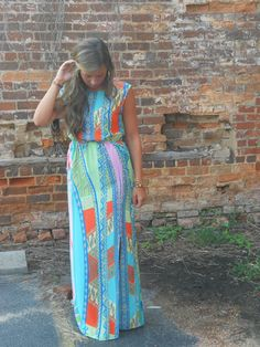 Button Back Maxi