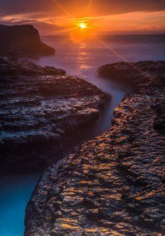The Last Sunset - Sunset, Davenport Beach,CA