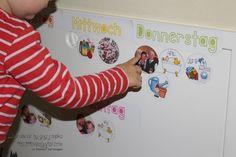 Ein Wochenkalender für's Kleinkind