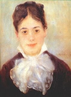 A Young Woman - Pierre-Auguste Renoir