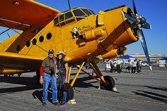 "Commemorative Air Force Antonov c/n 43798 ""Big Panda 'Monium! Big Panda, Bush Plane, Apple Valley, Postwar, Air Show, Airplanes, Air Force, Fighter Jets, Aviation"