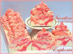 Euphoria Luxury Shea Butter Soap www.sweetlovecandles.com