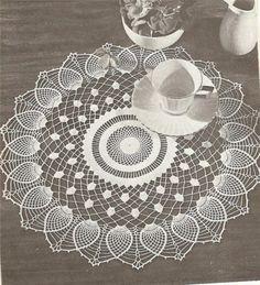 Home Decor Crochet Patterns Part 77 - Beautiful Crochet Patterns and Knitting Patterns Crochet Doily Patterns, Crochet Art, Lace Patterns, Filet Crochet, Crochet Doilies, Crochet Motif, Knitting Patterns, Knitting Projects, Crochet Projects
