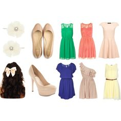 """""""Spring Wedding Guest"""" by julesg2011 on Polyvore"""