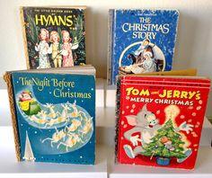 Vintage Children's Christmas Books