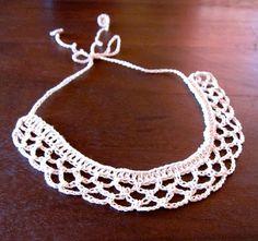 Mel P Designs: Free Crochet Collar Pattern