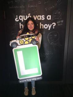 JOANA JULIANA PUIG!!! #hoyvoy #autoescuela #granollers