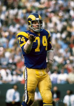 Merlin Olsen, Los Angeles Rams