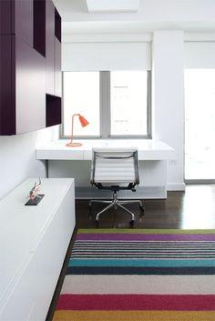Magdalena Keck Interior design - UWS Pied à Terre, kids room.