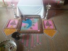 Rangoli for pooja