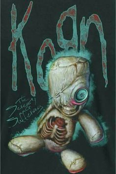 See Korn in Concert. Korn, Rock Y Metal, Nu Metal, Metal Pins, Heavy Metal Art, Heavy Metal Bands, Emo Bands, Rock Bands, Hard Rock