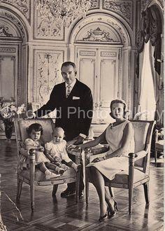 Princess Grace Price Rainier & Family by foundphotogallery on Etsy