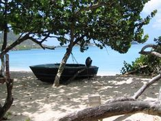 Fishing boat - Carriacou, West Indies.  Photo by Sarah Allard