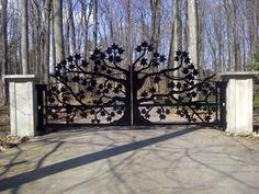 Художественная резка металла. Ворота художественной резки металла.  Ведь вы хотите со вкусом оформи…