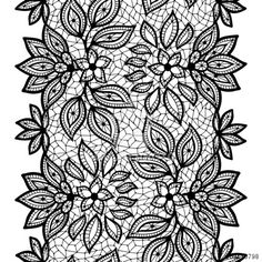 http://www.dollarphotoclub.com/stock-photo/Old lace seamless pattern, ornamental border. Vector texture./59510798 Dollar Photo Club millions of stock images for $1 each