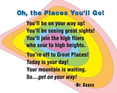 oh the places you'll go clip art | Oh the Places You'll Go nursery art by SweetLemonArt on Etsy