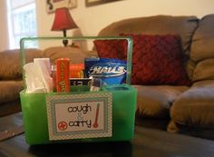 *Riches to Rags* by Dori: Thrift Store Basket Inspirations...basket for sick friend